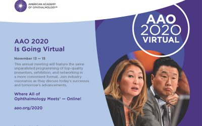 AAO 2020 Is Going Virtual