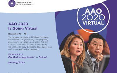 AAO 2020 Is Going Virtual