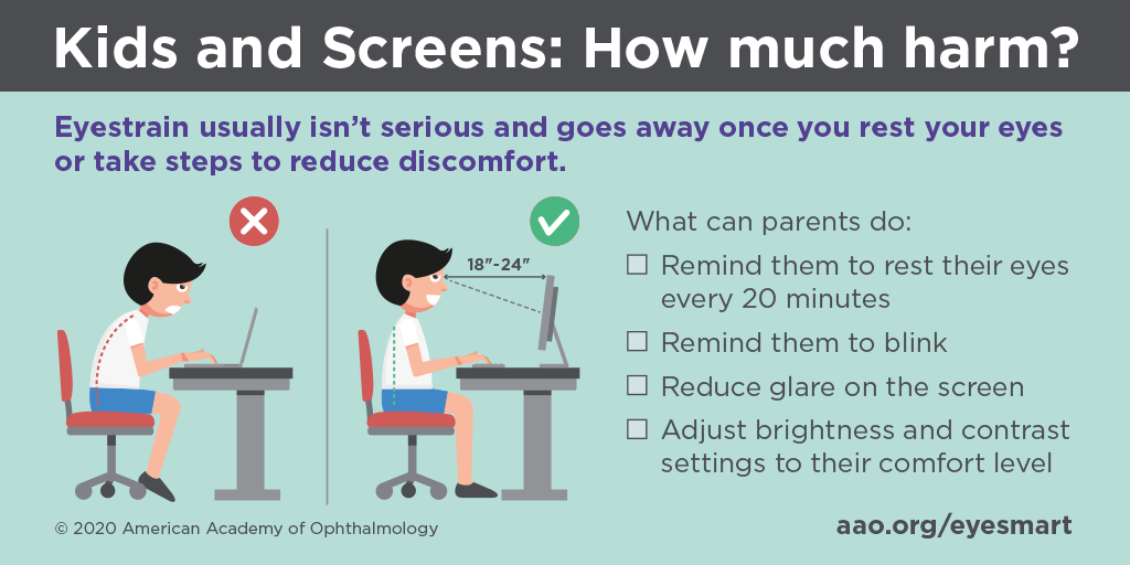 Ophthalmologists Anticipate a School Year Marked by Complaints of Eye Strain